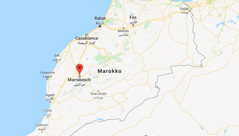 Wo liegt Marrakesch? Wo ist Marrakesch? in welchem land liegt Marrakesch