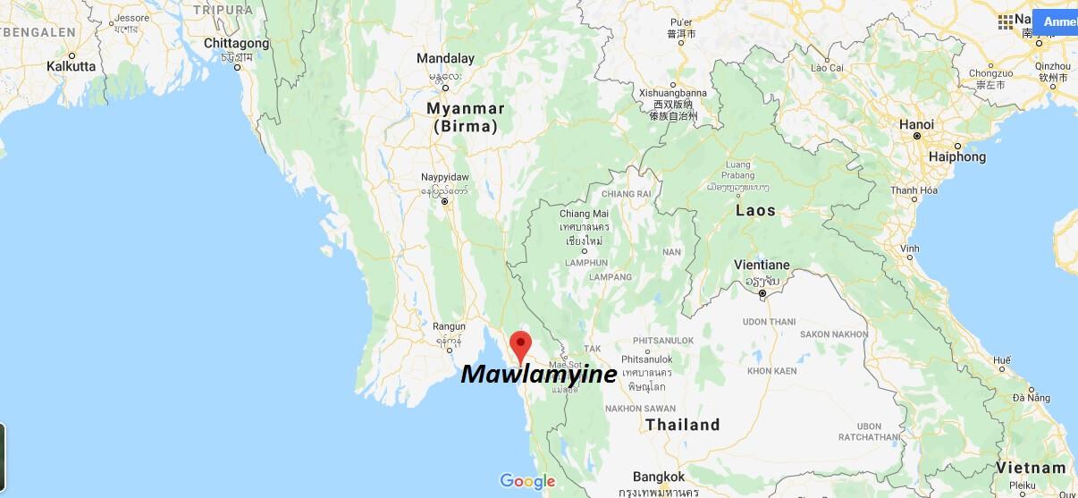 Wo liegt Mawlamyine? Wo ist Mawlamyine? in welchem land liegt Mawlamyine