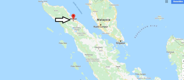 Wo liegt Medan? Wo ist Medan? in welchem land liegt Medan