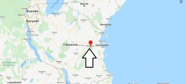 Wo liegt Morogoro? Wo ist Morogoro? in welchem land liegt Morogoro