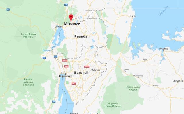 Wo liegt Musanze? Wo ist Musanze? in welchem land liegt Musanze