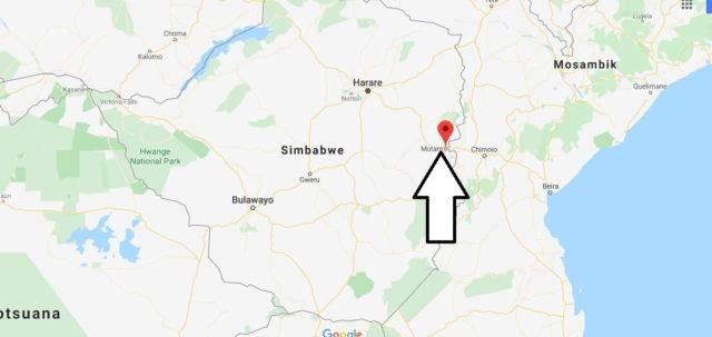 Wo liegt Mutare? Wo ist Mutare? in welchem land liegt Mutare