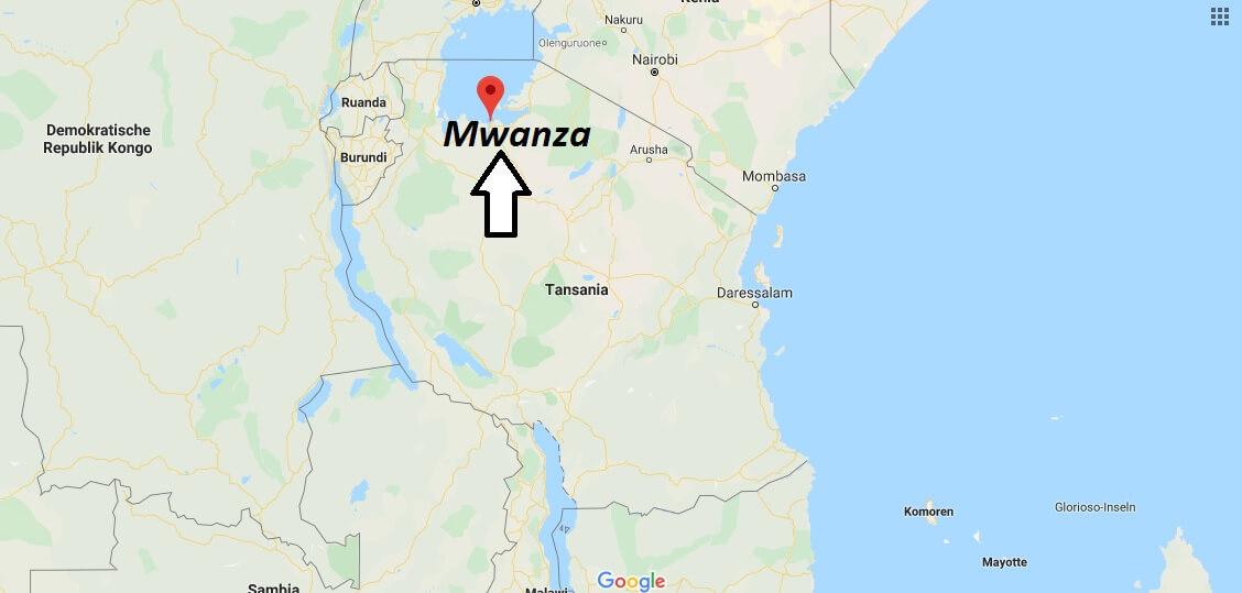 Wo liegt Mwanza? Wo ist Mwanza? in welchem land liegt Mwanza