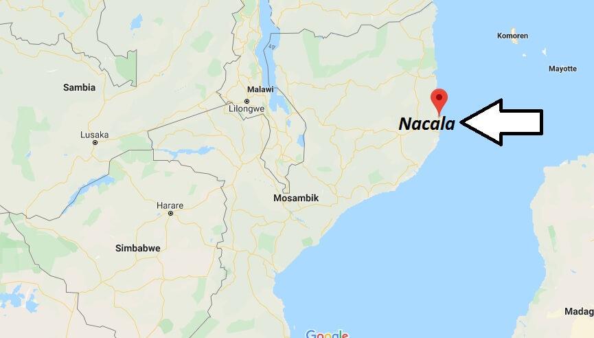Wo liegt Nacala? Wo ist Nacala? in welchem land liegt Nacala