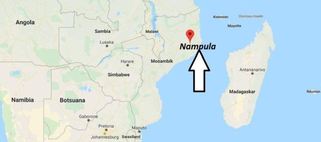 Wo liegt Nampula? Wo ist Nampula? in welchem land liegt Nampula