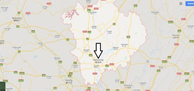 Wo liegt Nanchong? Wo ist Nanchong? in welchem land liegt Nanchong