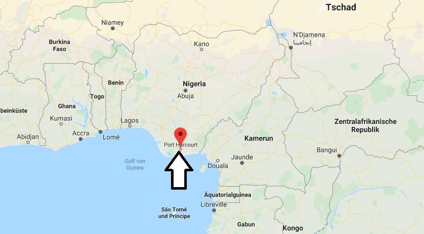 Wo liegt Port Harcourt? Wo ist Port Harcourt? in welchem land liegt Port Harcourt