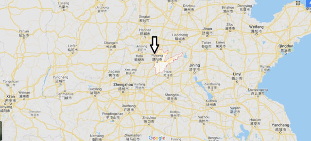 Wo liegt Puyang? Wo ist Puyang? in welchem land liegt Puyang