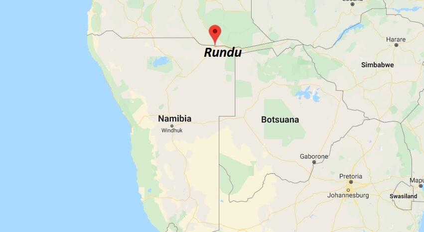 Wo liegt Rundu? Wo ist Rundu? in welchem land liegt Rundu