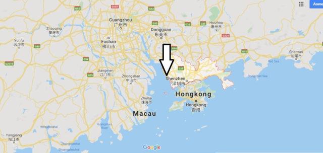 Wo liegt Shenzhen? Wo ist Shenzhen? in welchem land liegt Shenzhen