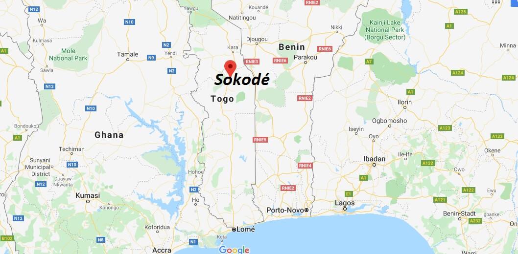 Wo liegt Sokodé? Wo ist Sokodé? in welchem land liegt Sokodé