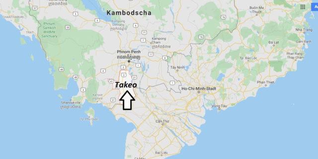 Wo liegt Takeo? Wo ist Takeo? in welchem land liegt Takeo