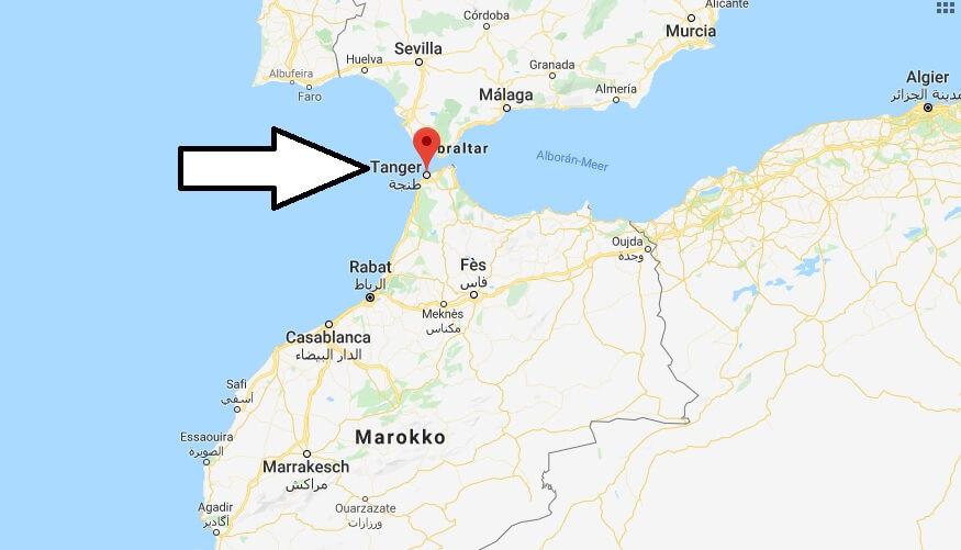 Wo liegt Tanger? Wo ist Tanger? in welchem land liegt Tanger