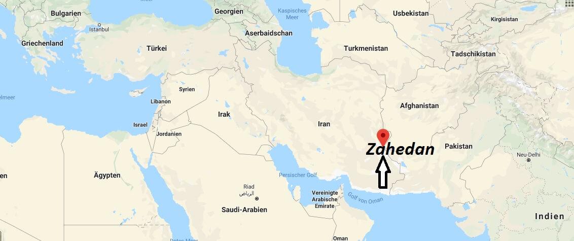 Wo liegt Zahedan? Wo ist Zahedan? in welchem land liegt Zahedan