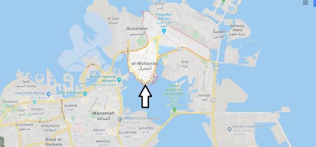 Wo liegt al-Muharraq? Wo ist al-Muharraq? in welchem land liegt al-Muharraq