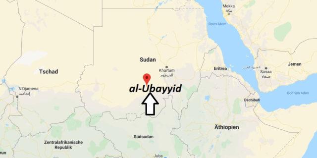 Wo liegt al-Ubayyid? Wo ist al-Ubayyid? in welchem land liegt al-Ubayyid