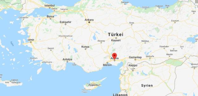 Wo liegt Adana? Wo ist Adana? in welchem land liegt Adana