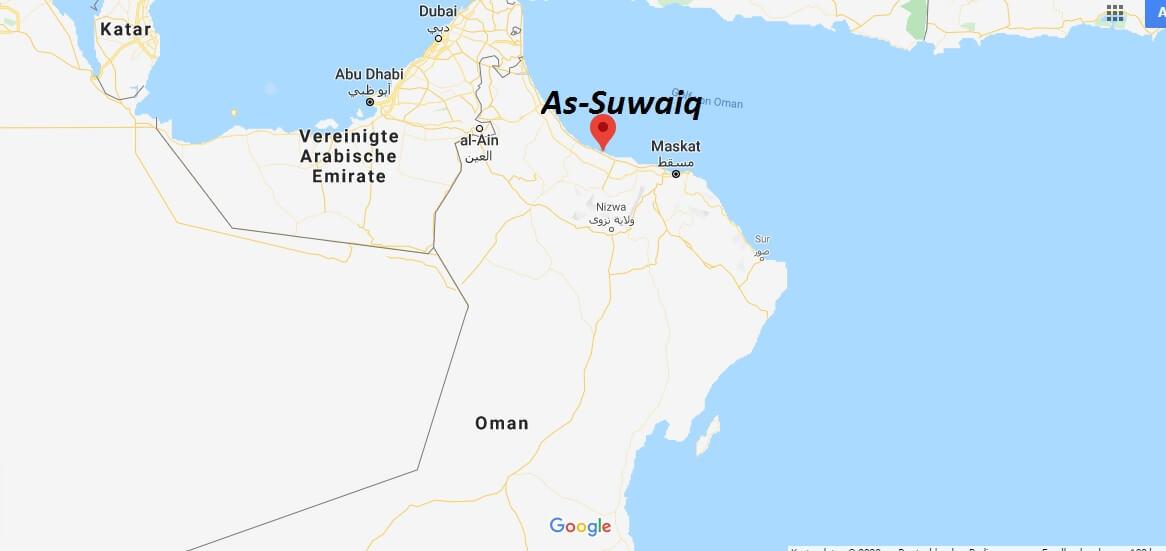 Wo liegt As-Suwaiq? Wo ist As-Suwaiq? in welchem land liegt As-Suwaiq