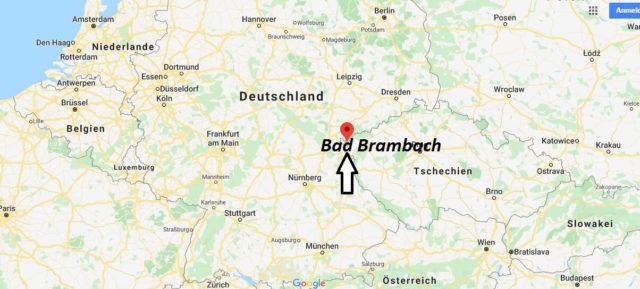 Wo liegt Bad Brambach? Wo ist Bad Brambach? in welchem land liegt Bad Brambach