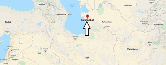 Wo liegt Balkanabat? Wo ist Balkanabat? in welchem land liegt Balkanabat