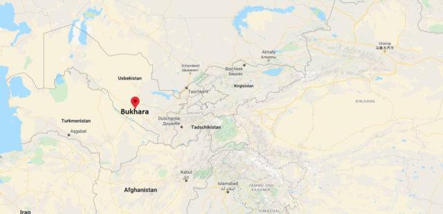 Wo liegt Bukhara, Usbekistan? Wo ist Bukhara? in welchem land liegt Bukhara