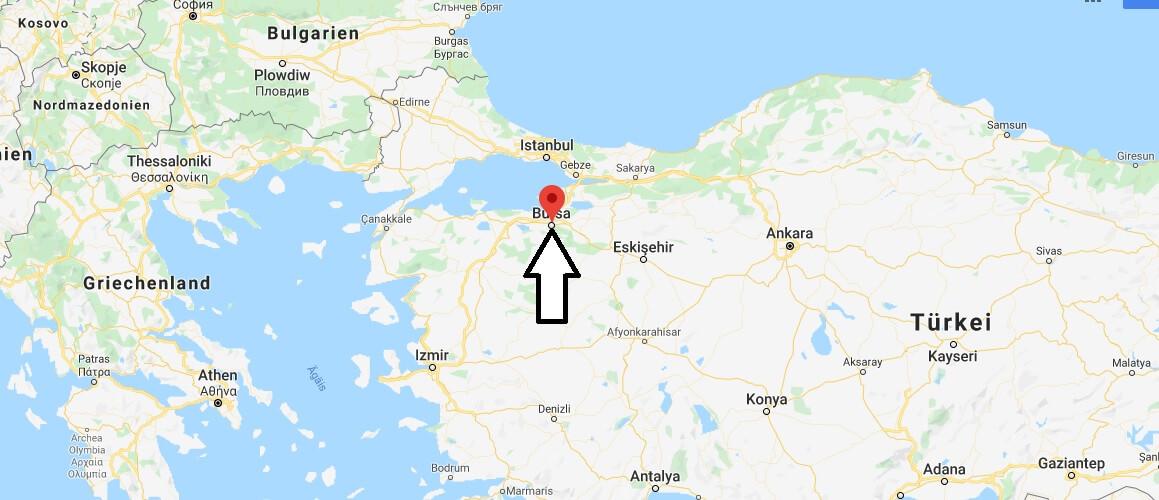 Wo liegt Bursa? Wo ist Bursa? in welchem land liegt Bursa