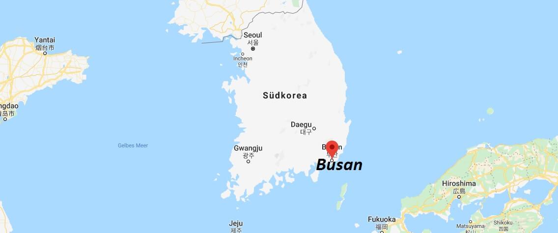 Wo liegt Busan? Wo ist Busan? in welchem land liegt Busan