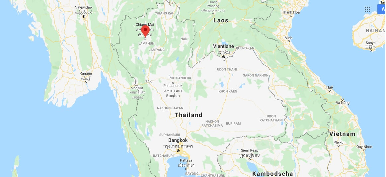 Wo liegt Chiang Mai? Wo ist Chiang Mai? in welchem land liegt Chiang Mai