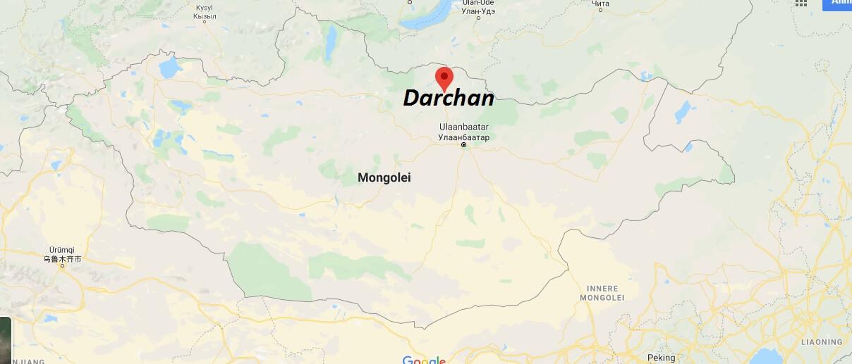 Wo liegt Darchan? Wo ist Darchan? in welchem land liegt Darchan