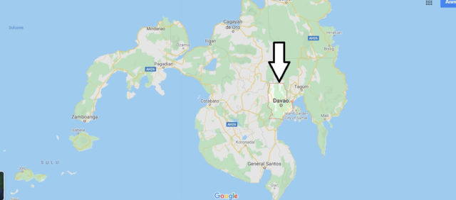 Wo liegt Davao? Wo ist Davao? in welchem land liegt Davao