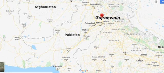 Wo liegt Gujranwala? Wo ist Gujranwala? in welchem land liegt Gujranwala