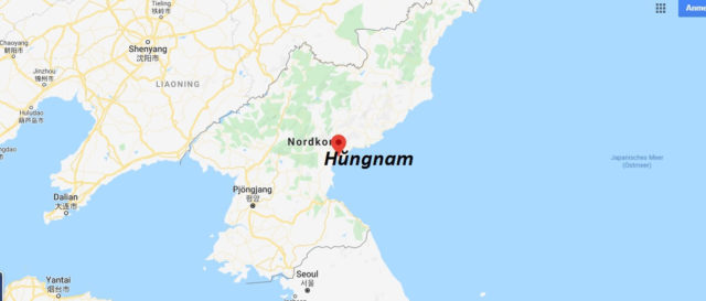 Wo liegt Hŭngnam? Wo ist Hŭngnam? in welchem land liegt Hŭngnam