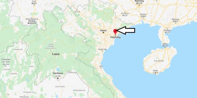 Wo liegt Haiphong? Wo ist Haiphong? in welchem land liegt Haiphong