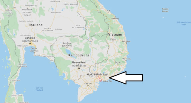 Wo liegt Ho Chi Minh City? Wo ist Ho Chi Minh City? in welchem land liegt Ho Chi Minh City