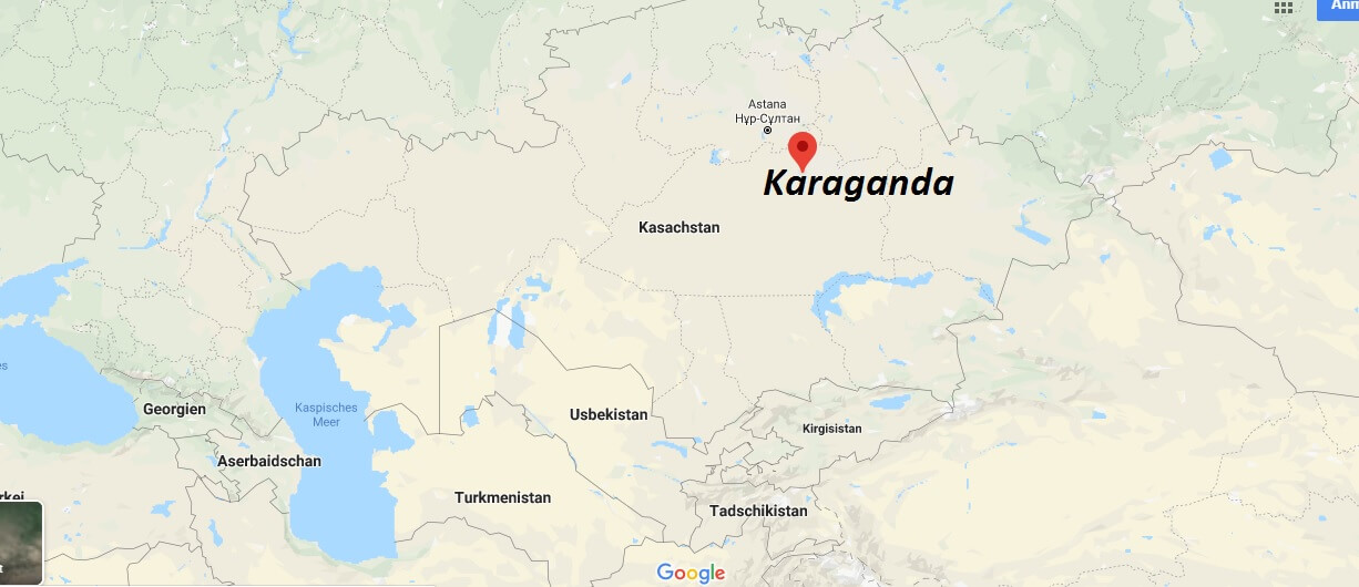 Wo liegt Karaganda? Wo ist Karaganda? in welchem land liegt Karaganda