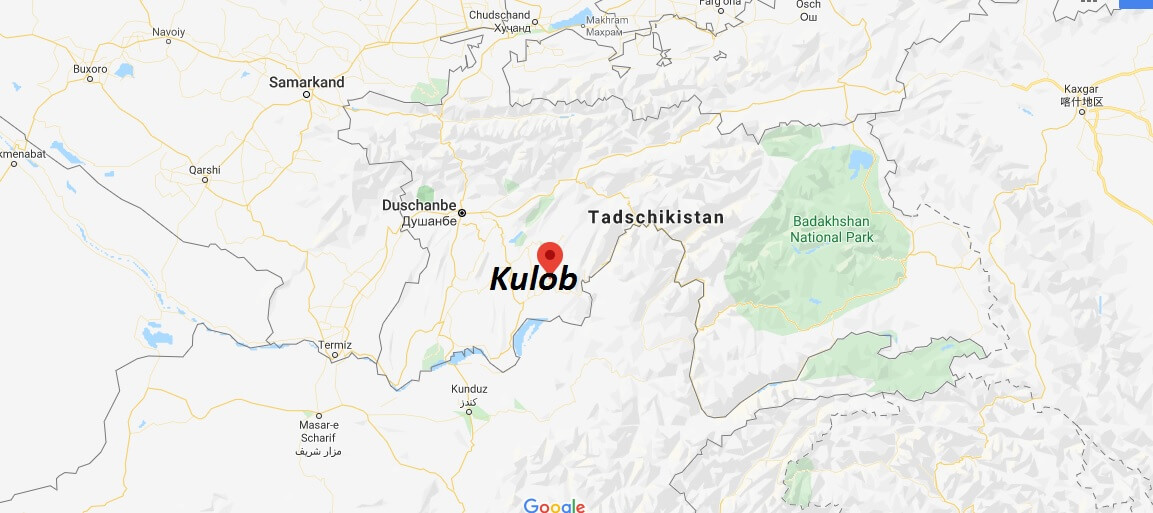 Wo liegt Kulob? Wo ist Kulob? in welchem land liegt Kulob