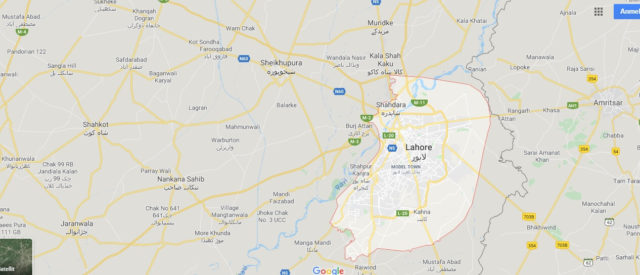 Wo liegt Lahore? Wo ist Lahore? in welchem land liegt Lahore