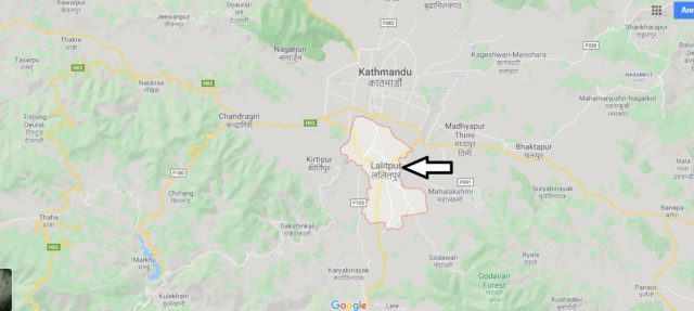 Wo liegt Lalitpur? Wo ist Lalitpur? in welchem land liegt Lalitpur