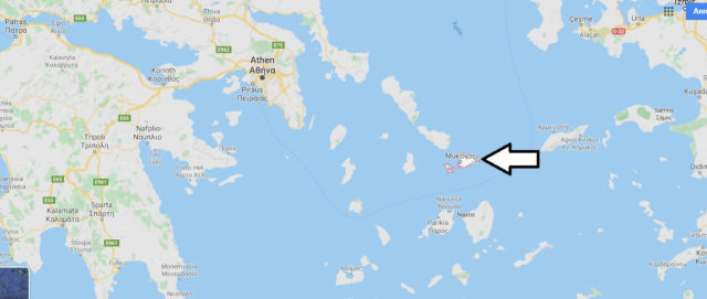 Wo liegt Mykonos? Wo ist Mykonos? in welchem land liegt Mykonos