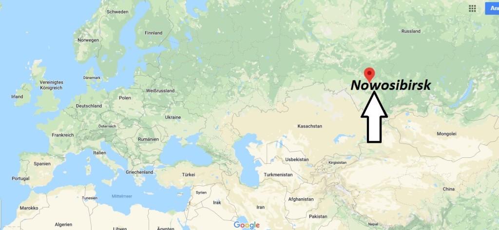 Wo liegt Nowosibirsk? Wo ist Nowosibirsk? in welchem land liegt Nowosibirsk