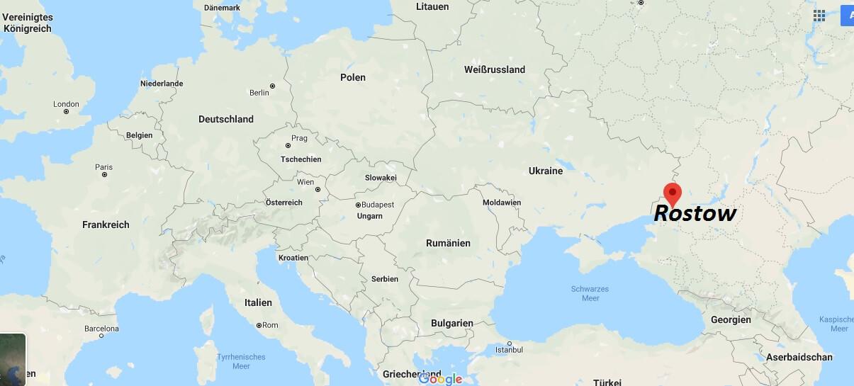 Wo liegt Rostow? Wo ist Rostow? in welchem land liegt Rostow