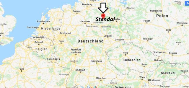 Wo liegt Stendal? Wo ist Stendal? in welchem land liegt Stendal