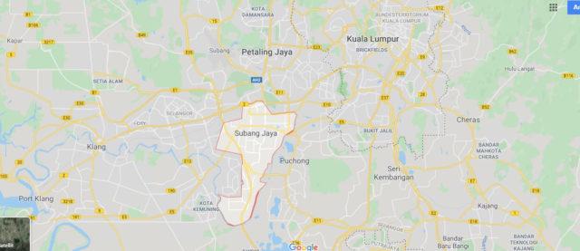 Wo liegt Subang Jaya? Wo ist Subang Jaya? in welchem land liegt Subang Jaya