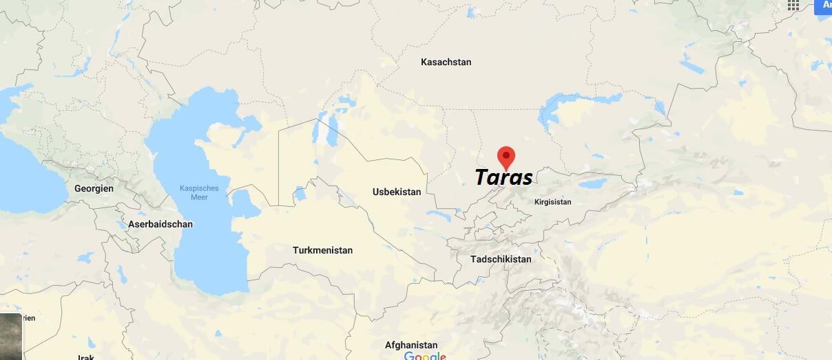 Wo liegt Taras? Wo ist Taras? in welchem land liegt Taras