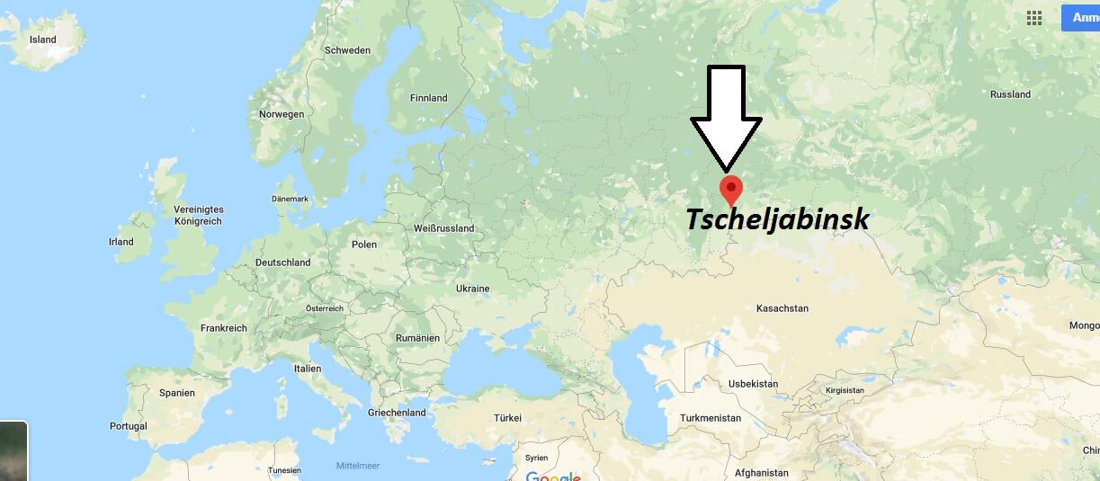 Wo liegt Tscheljabinsk? Wo ist Tscheljabinsk? in welchem land liegt Tscheljabinsk