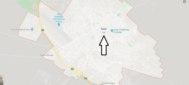 Wo liegt Yazd? Wo ist Yazd? in welchem land liegt Yazd