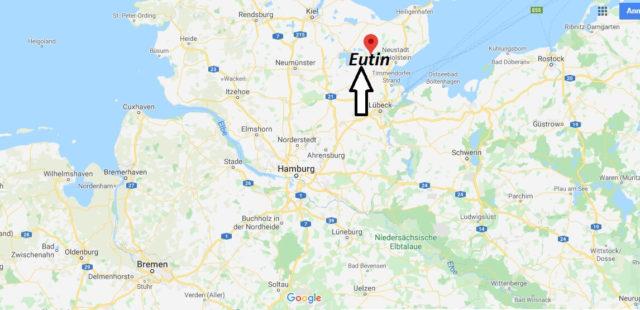 Wo liegt Eutin? Wo ist Eutin? In welchem Bundesland liegt Eutin