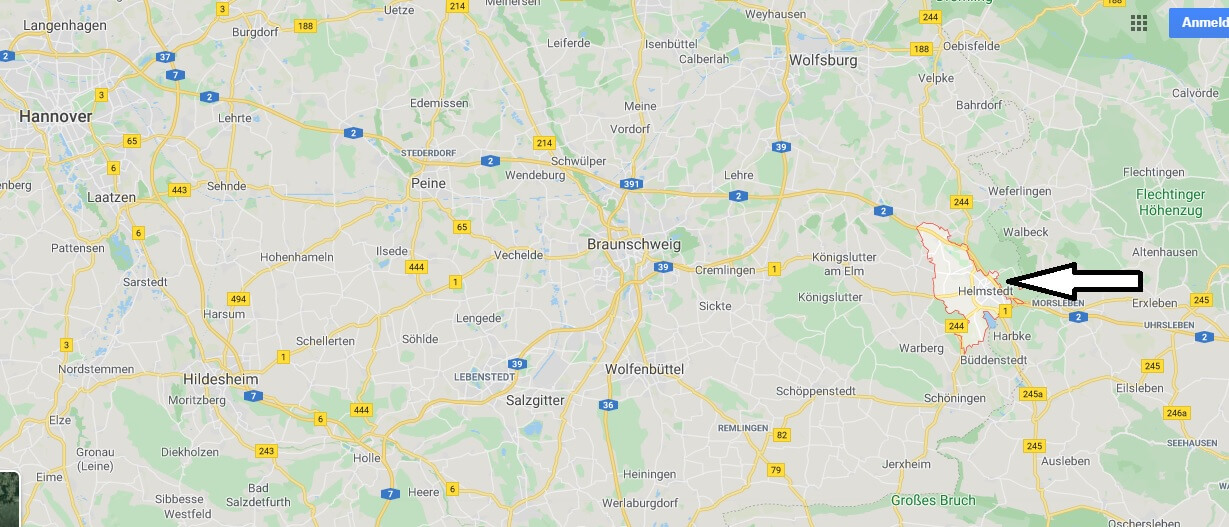 Wo liegt Helmstedt? Wo ist Helmstedt? In welchem Bundesland ist Helmstedt