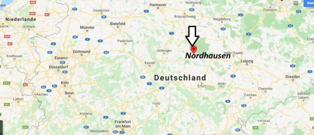 Wo liegt Nordhausen? Wo ist Nordhausen? In welchem Bundesland liegt Nordhausen