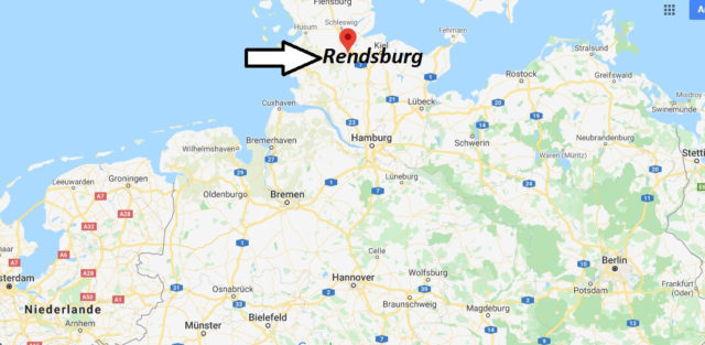Wo liegt Rendsburg? Wo ist Rendsburg? In welchem Bundesland liegt Rendsburg